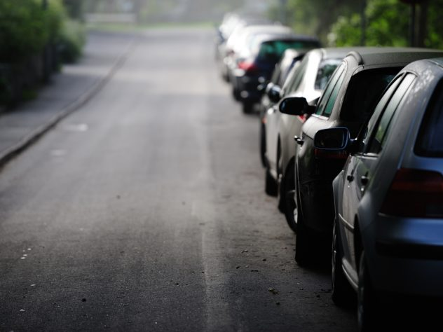 Fines for parking on pavements