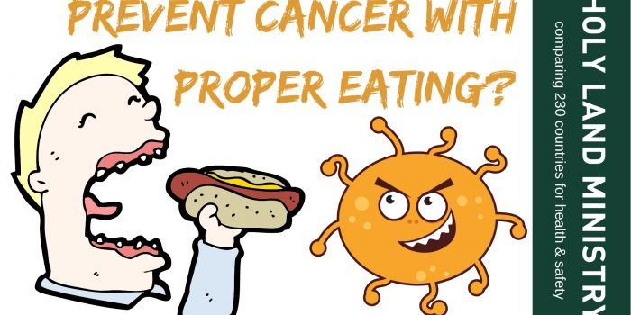 YOUR POOR EATING HABITS MAY CAUSE YOU CANCER, FINDS DON JURAVIN