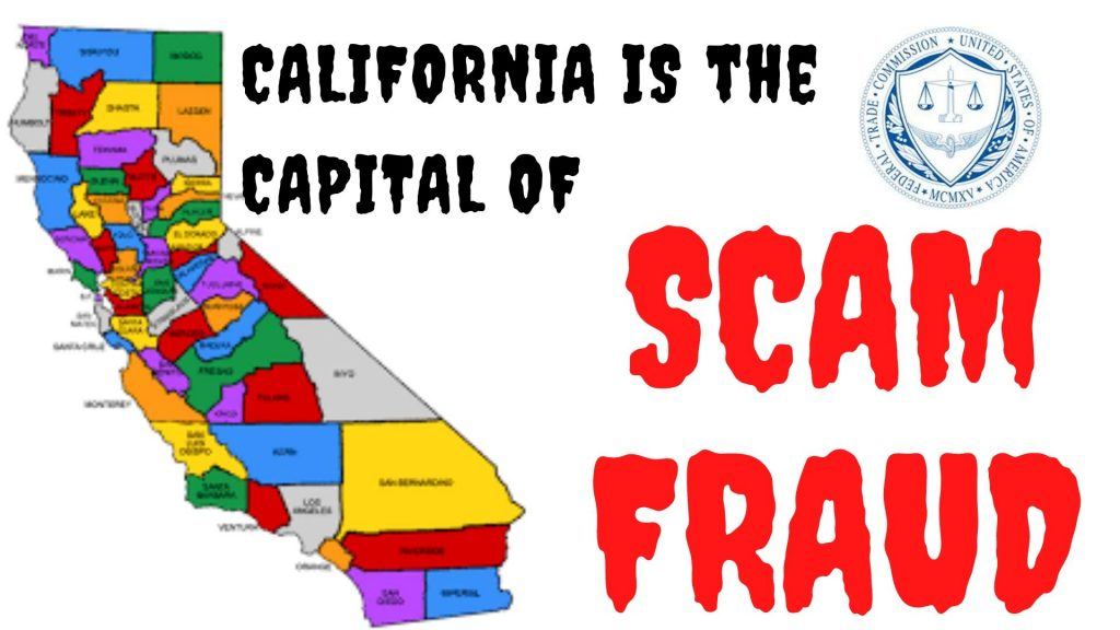 "Don Juravin exposes ""California is the capital of FRAUD and SCAM"""