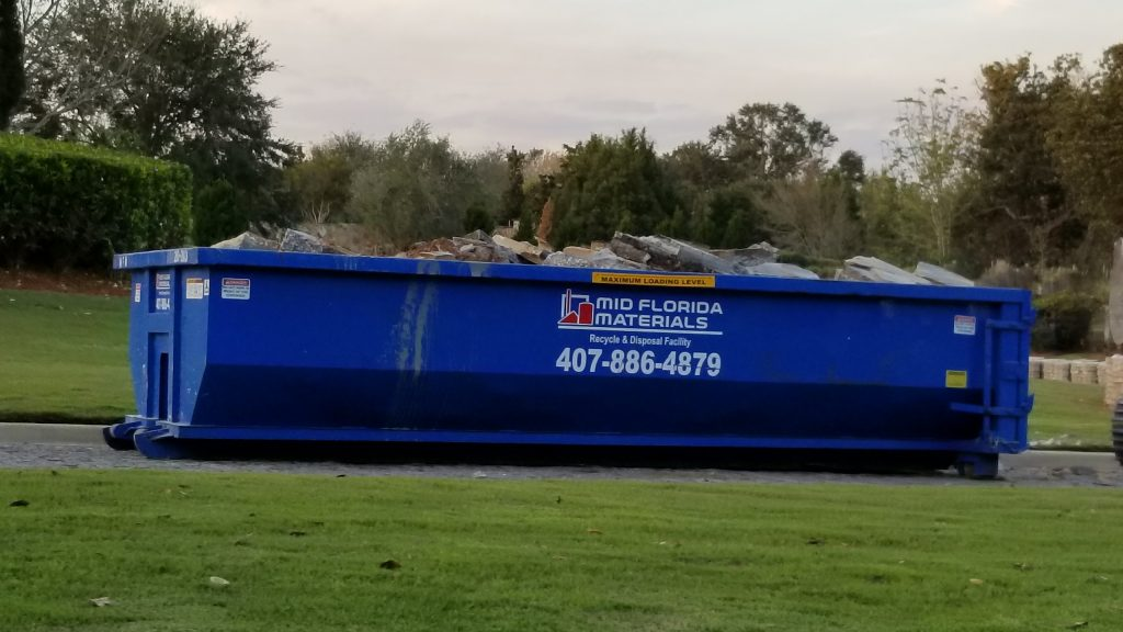 Unmanaged dumpster in Bella Collina