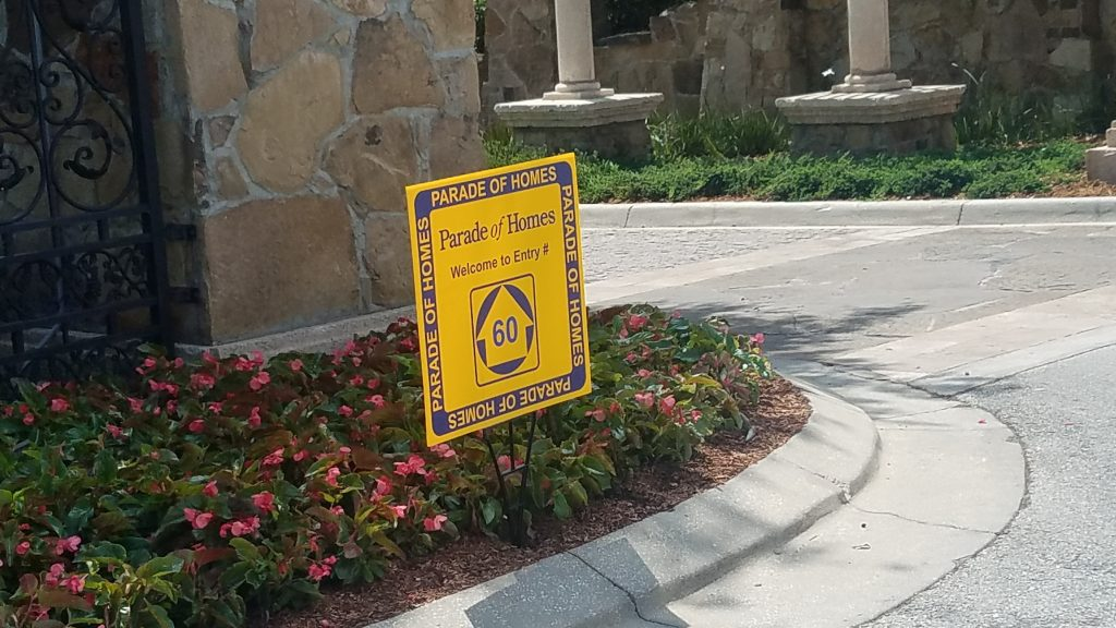 Signs in Bella Collina