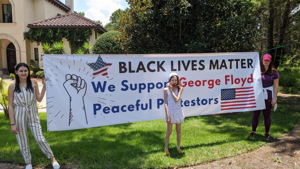 "image of ""Dwight Schar Opposes Black Lives Matter Sign In His Bella Collina"""