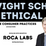 DWIGHT SCHAR OWNER OF ROCA LABS deceptive consumer practices